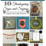Thanksgiving Signs and Sayings