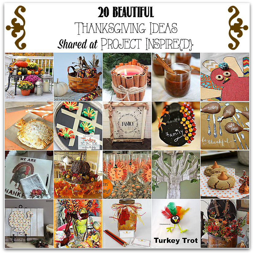 PI Features: 20 Thanksgiving Ideas
