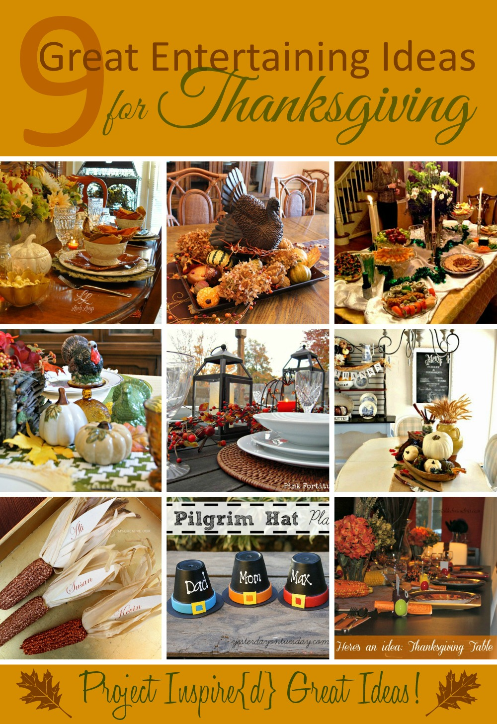 9 Great Thanksgiving Ideas