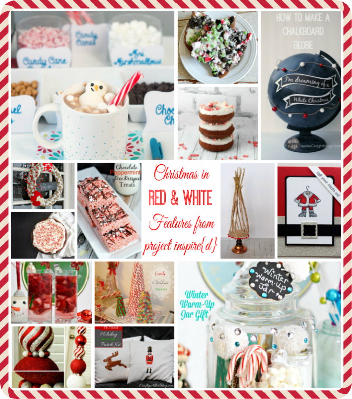 PI Features: Red and White Christmas