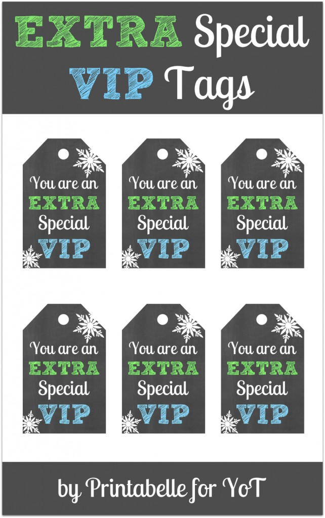 Giving Back to those VIP's in your life with a Extra Gum Holiday Gift Pack and free labels from http://yesterdayontuesday.com