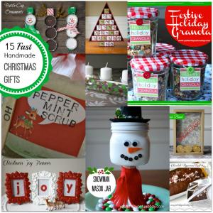 15 Fast Handmade Christmas Gifts