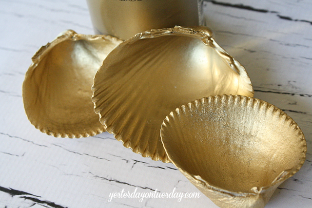 Gold Thanksgiving Centerpiece