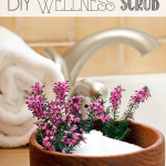 Make a Wellness Scrub: Great home remedy to ward off symptoms of a cold. All natural ingredients. Easy and cheap!