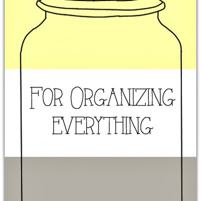 30 Mason Jar Ideas for Organizing