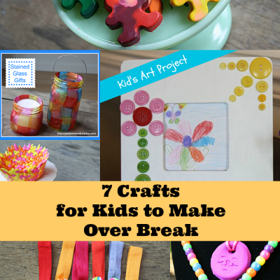 7 Colorful Crafts for Kids