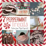 A collection of Sweet Peppermint Treats from Project Inspire{d} weekly link party