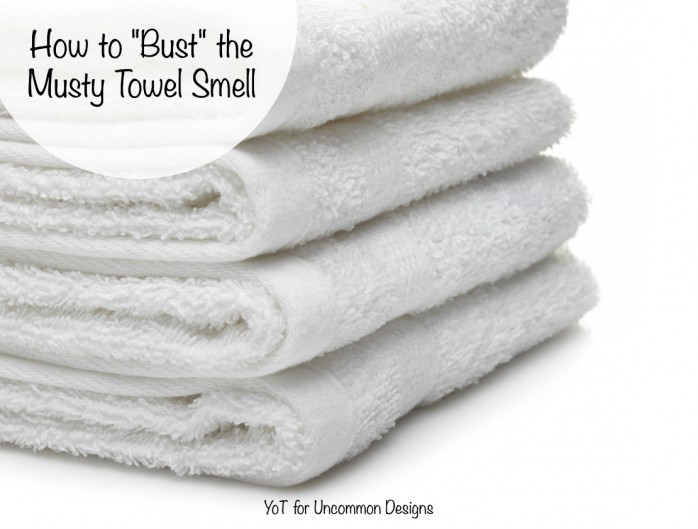 How to get rid of that musty towel smell