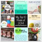 My Top 10 Posts of 2014 from http://yesterdayontuesday.com