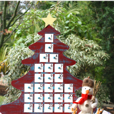 Rustic Advent Calendar and Giveaway
