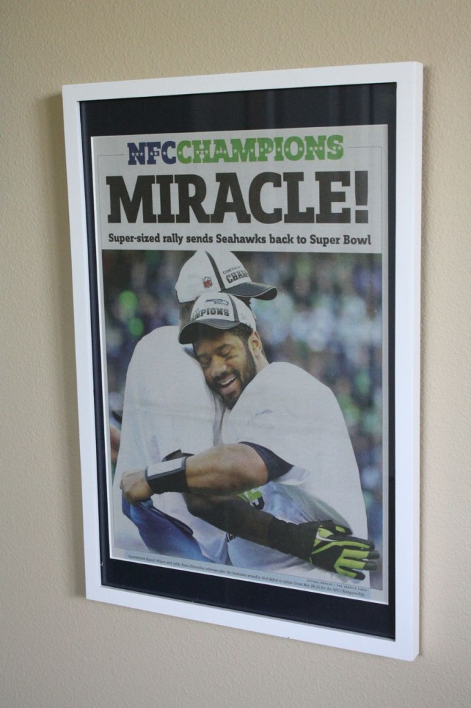 Frame your favorite Hawks moment #seahawks