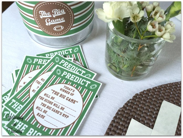 Party Planing Food and Decor Ideas for TheBig Game #PrepareToParty #CollectiveBias #Spon