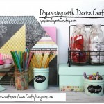 Easy Organizing Ideas with Darice Crafts #organizing #daricecraftshoa
