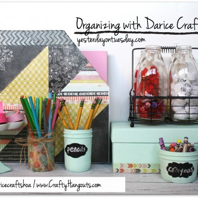 Organizing with Darice Crafts