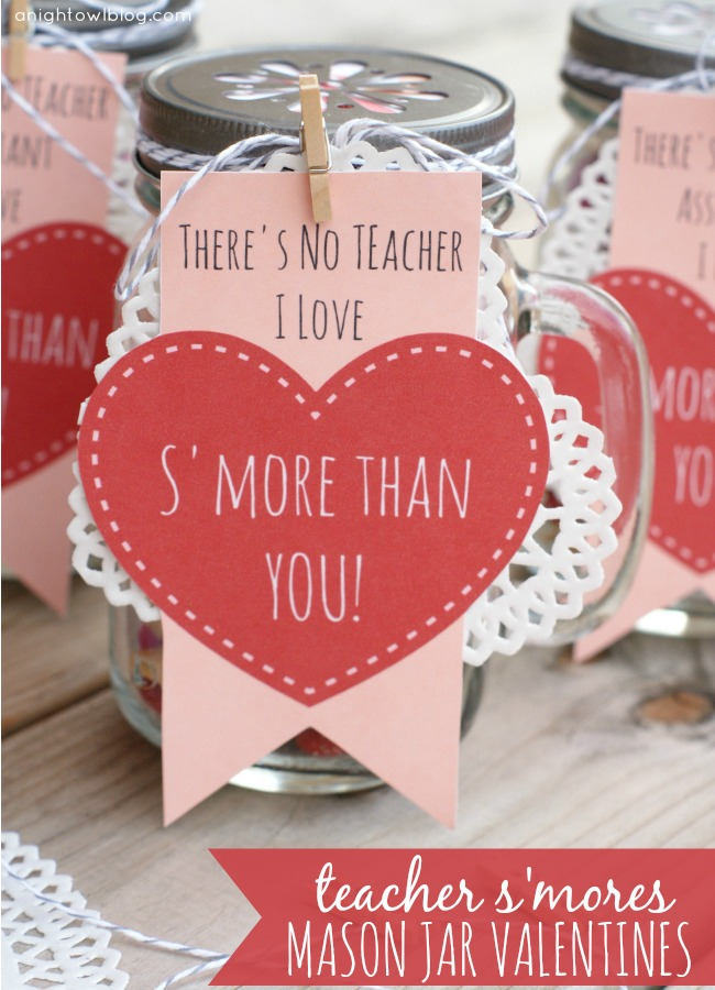 S'mores Teachers Valentine from A Night Owl Blog
