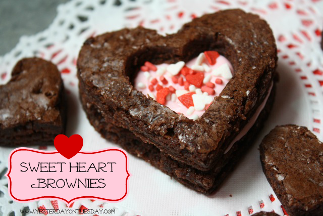 Sweet Heart Brownies