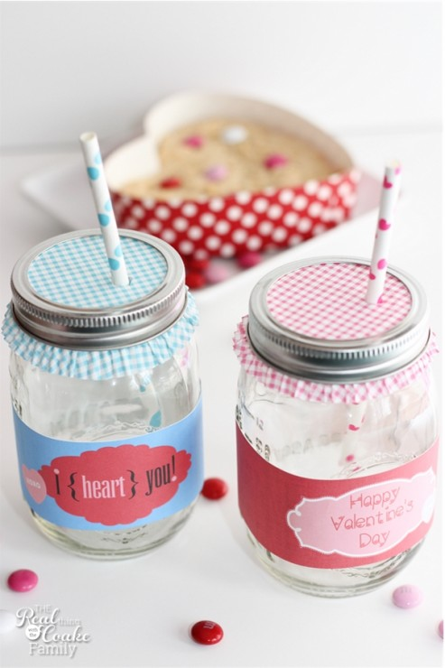 30 mason jar ideas for valentine's day | yesterday on tuesday, Ideas