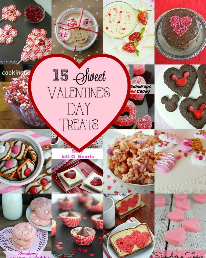15 Sweet Valentine's Day Treats