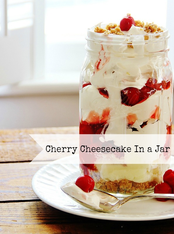 Cherry Cheesecake Recipe from Thistlewood Farms
