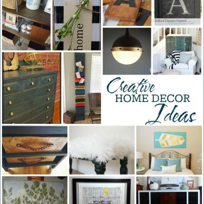 14 Creative Home Ideas