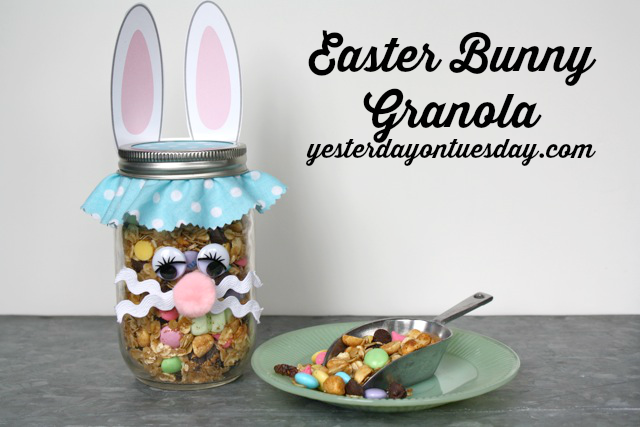 Easter Bunny Granola Treat #easter