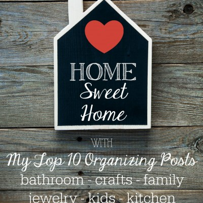 My Top Ten Organizing Posts