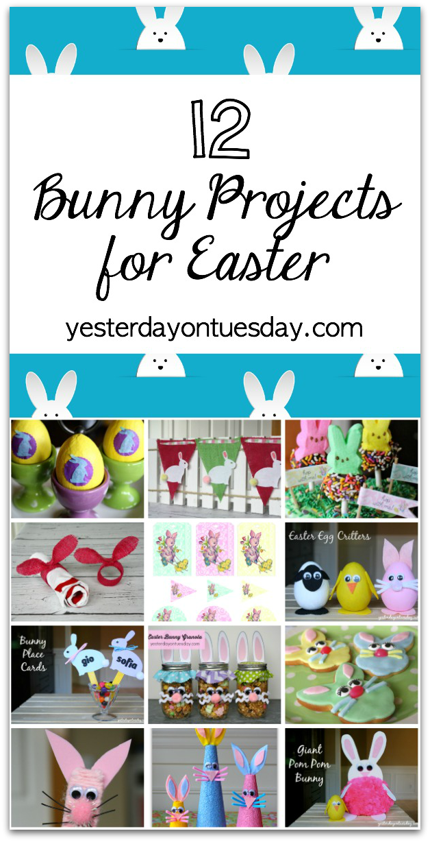 12 Bunny Projects for Easter
