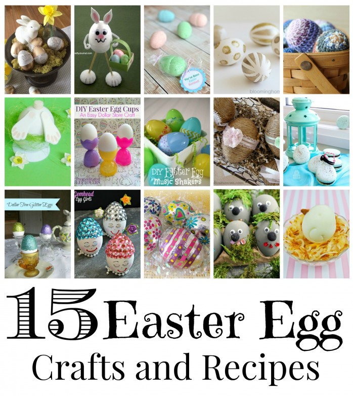 Easter Egg Recipes and Crafts