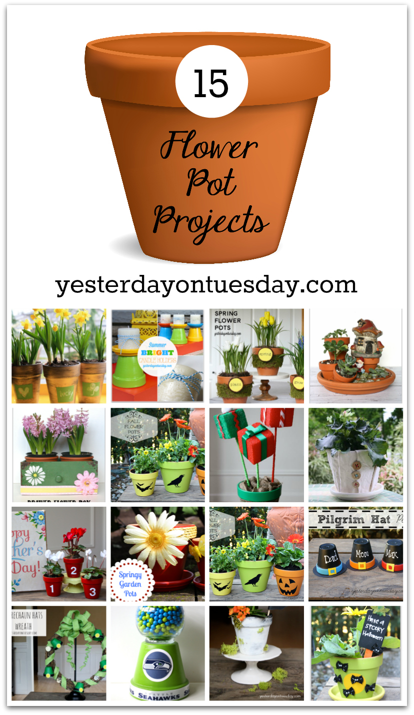 Flower Pot Projects for Every Season
