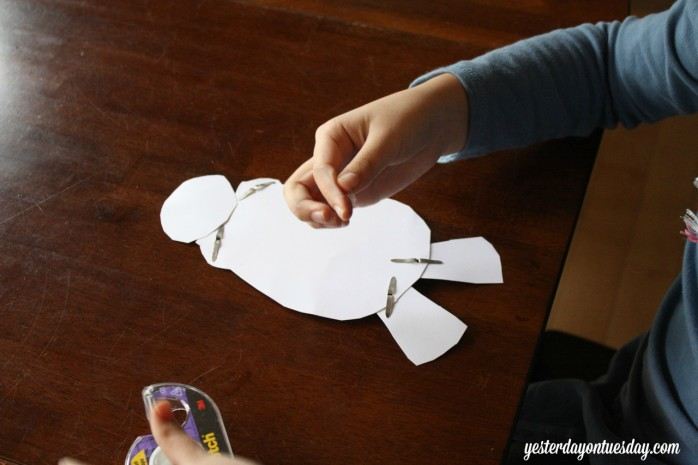 Build Your Own Baymax printable