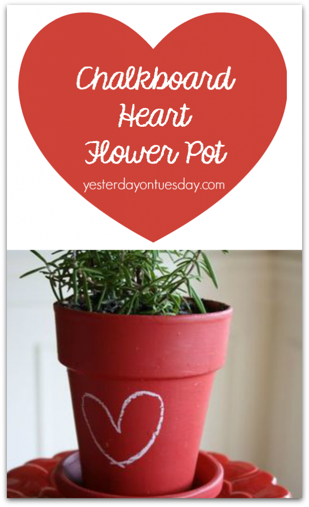 Valentine's Day Flower Pot