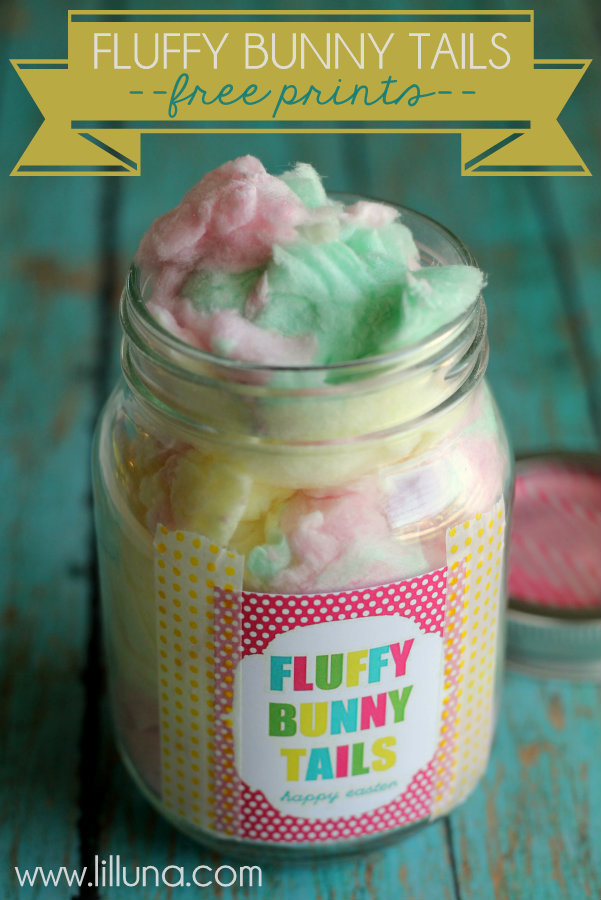 30 mason jar ideas for easter yesterday on tuesday fluffy bunny tails negle Image collections