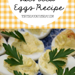 My Mom's Deviled Egg Recipe
