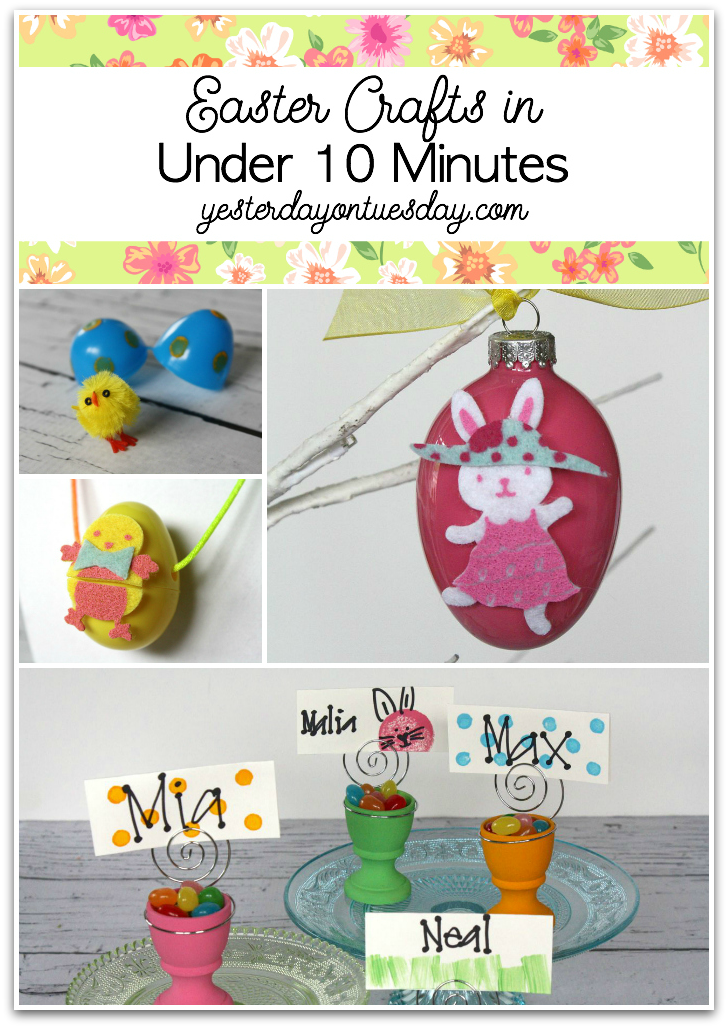 Easter Crafts In Under 10 Minutes
