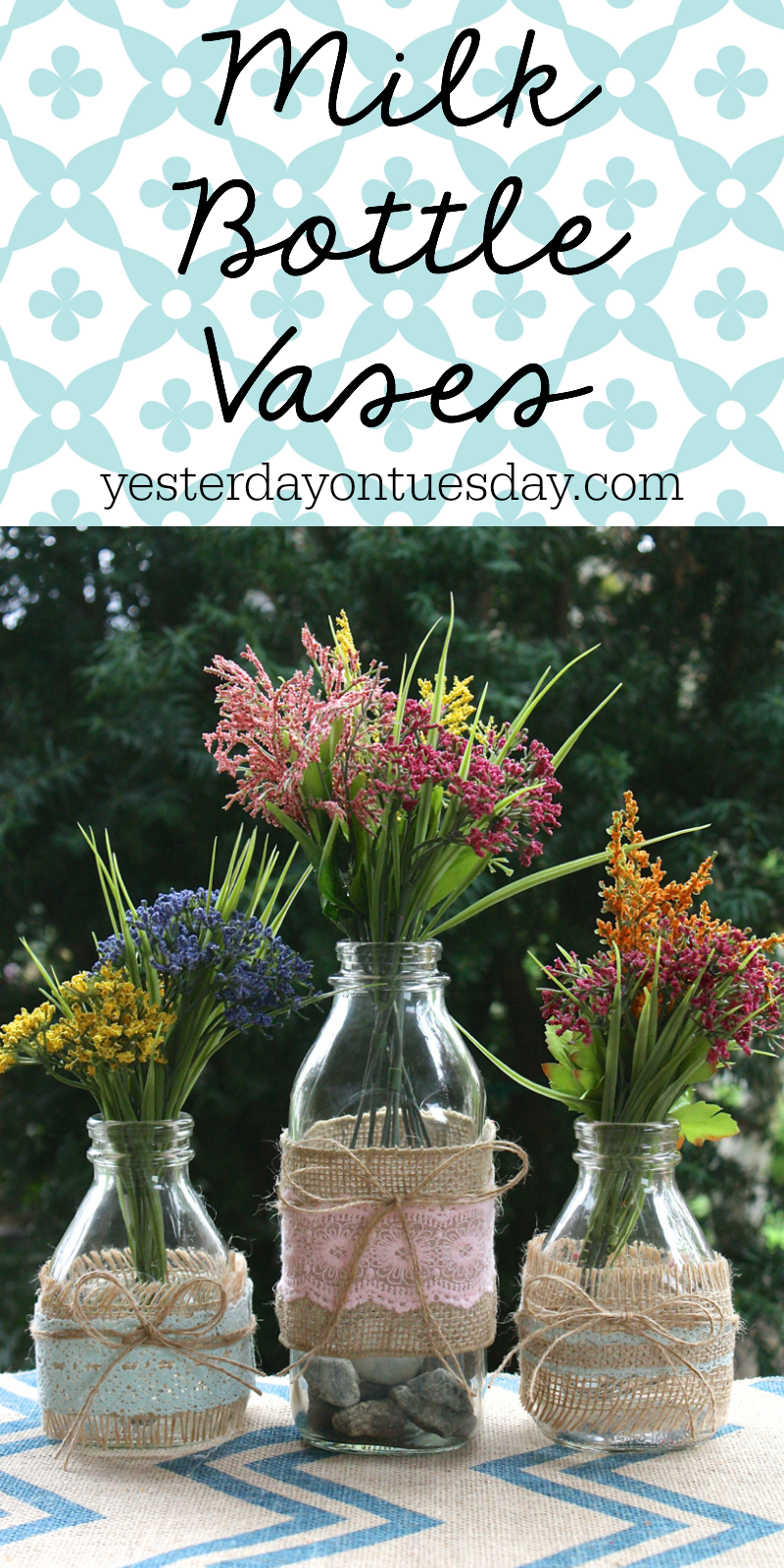 Milk bottle vases yesterday on tuesday reviewsmspy