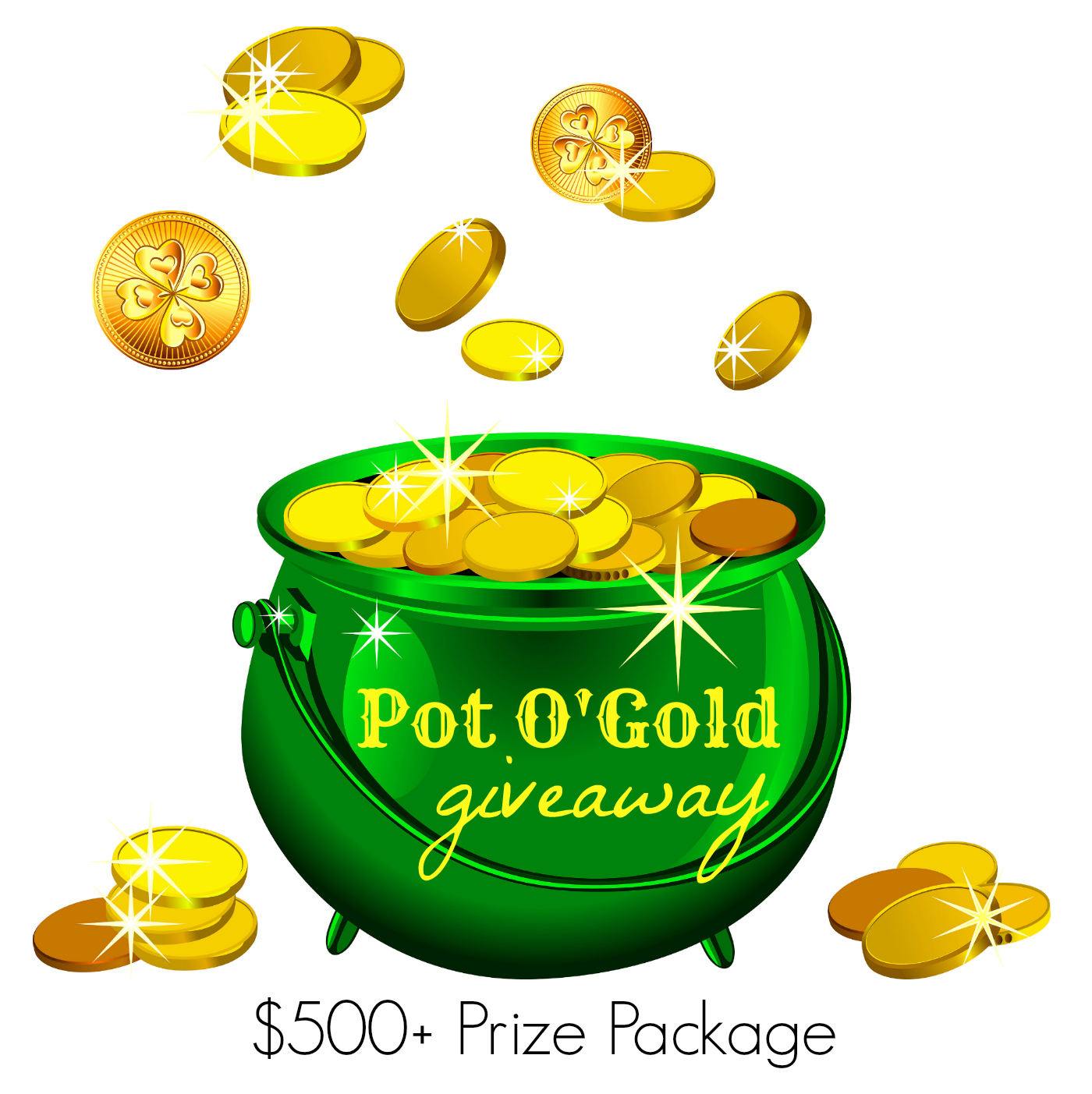 Pot O'Gold Giveaway