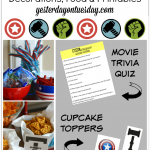 Amazing Avengers Party Ideas including decorations, food, printables and more. AvengersUnite #Ad