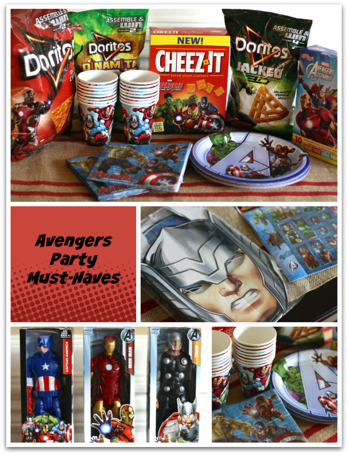 Fun Avengers products for your Awesome Avengers Party #AvengersUnite #Ad