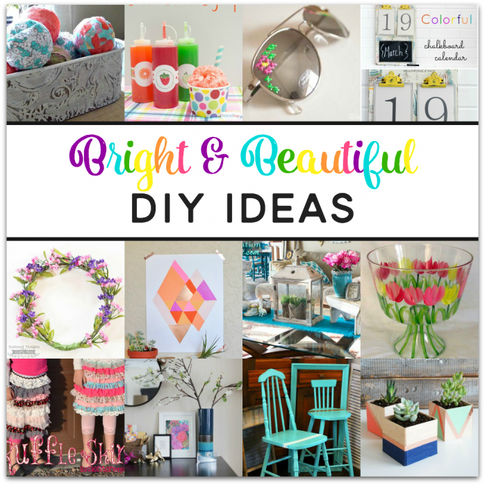 Colorful DIY Ideas