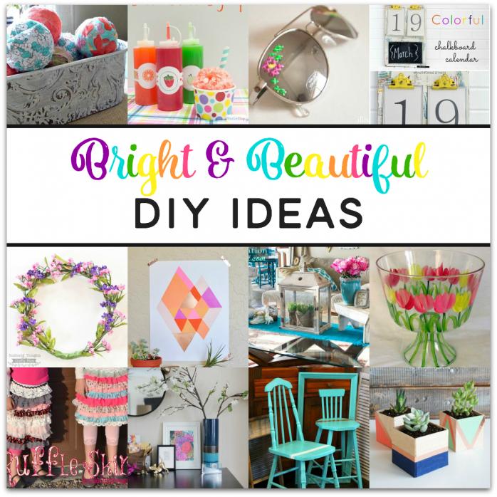 Colorful DIY Ideas