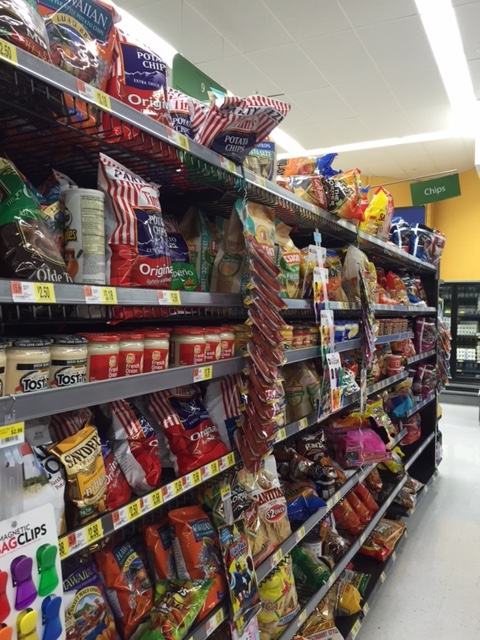 Doritos in the Chip Aisle