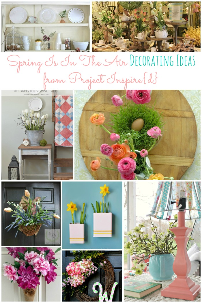 Spring is in the Air Decorating Ideas