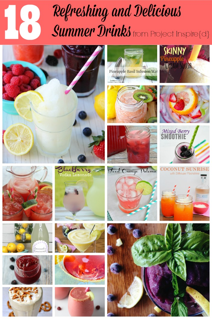 18 Refreshing Summer Drinks