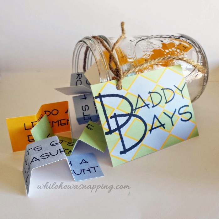 Daddy Days Activity Jar