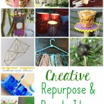 Creative ways to repurpose and recycle your stuff.