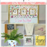 DIY Mother's Day gifts that Mom and Grandma will love including jewelry, photos, a flower pot and more. Ideas for kids of all ages.