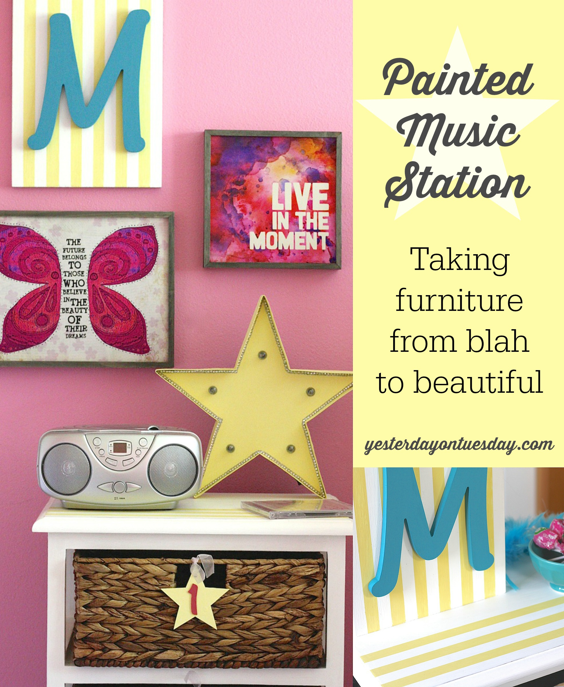 Painted Music Station