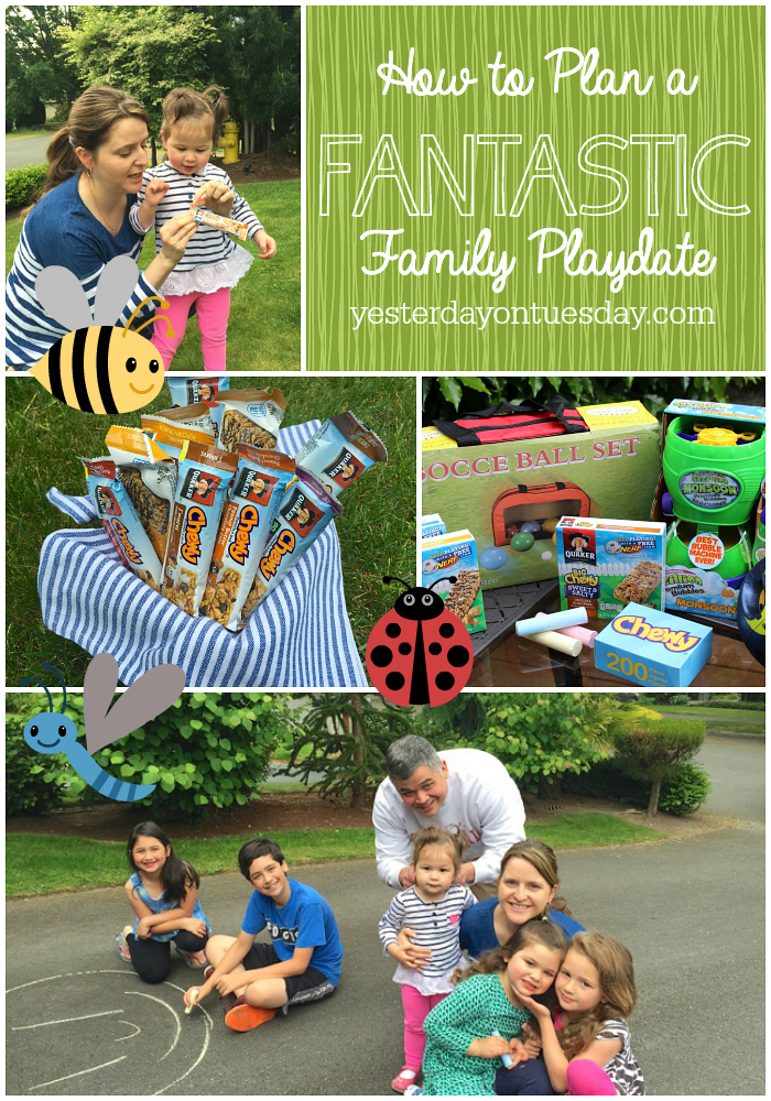 How to Plan a Fantastic Family Playdate