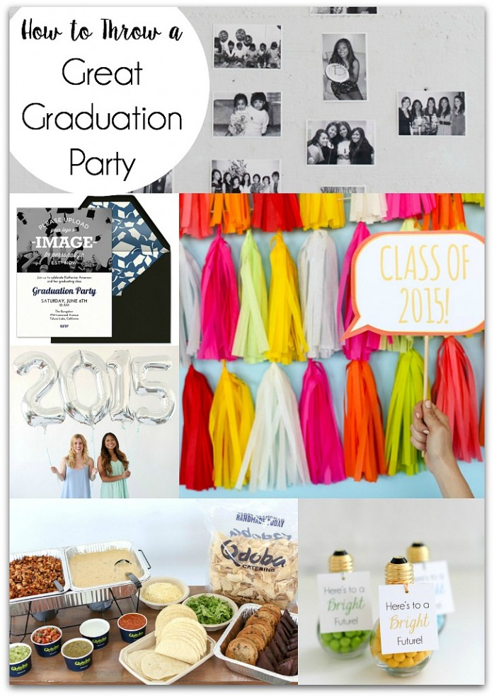 How to Throw a Great Graduation Party, tons of tips and cool ideas!