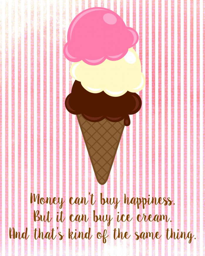 Money Can't Buy Happiness Printable